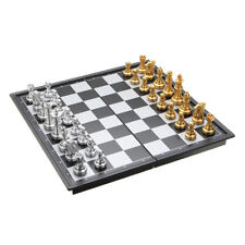 10'' Travel Magnetic Chess Board Portable Chessboard Box Set Kid Game Folding