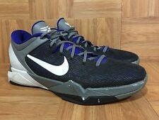 RARE🔥 Nike Zoom Kobe VII 7 Concord White Cool Gray Sz 12 488371-402 Men's SICK!