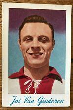 Jos Van Ginderen 1951-52 Antwerp FC Chromo De Beukelaar