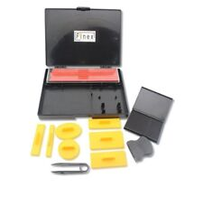 Finex DIY Rubber Stamp Printing Kit DIY Set Made in Taiwan Pad Handle Platens