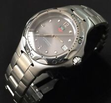 Rare Mens Tag Heuer Kirium 42mm Full size WL1011 Grey Genuine Serviced Boxed