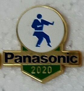 KARATE TOKYO 2020 PANASONIC OLYMPIC PIN