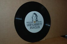 LEIF GARRETT FAN CLUB WELCOME MESSAGE 1977 1-SIDED 7 INCH PROMO ONLY 33 1/3 RPM