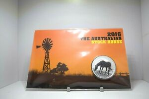 The Perth Mint 2016 Australian Stock Horse Silver Coin (Max. 1,000 mintage)
