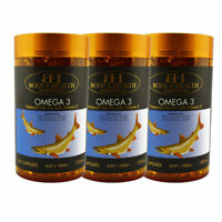 Body & Health Omega 3 With Vitamin E 1000mg 365 Capsules x 3 units