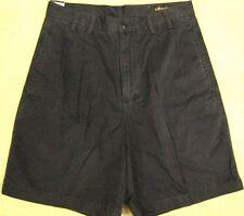 Mens Bachrach Black Cotton Khakis Shorts Bermudas size 31