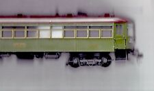 O SCALE BRASS CNS&M 150 SERIES INTERURBAN COACH, PAINTED, UNPOWERED