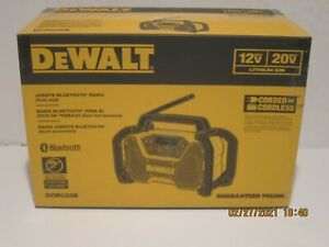 DEWALT DCR028B 12V/20V MAX Bluetooth Cordless Jobsite Radio (Tool Only) NISB FSP