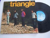 LP 33 TOURS , TRIANGLE , J ' AI VU , 9 TITRES . VG - / VG .