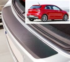 Kia Rio Hatchback - Estilo Carbono Parachoques Trasero Protector