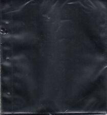 Supersafe #6 Cover 1 Pocket Album Pages 10 Pack Black Archival Large Fdc Storage