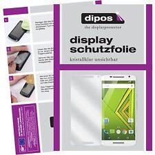 2x Motorola Moto X Play Protector de Pantalla protectores transparente