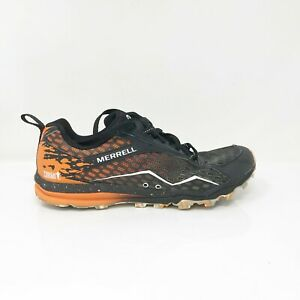 Merrell Womens Tough Mudder J37402 Orange Black Running Shoes Lace Up Size 6.5
