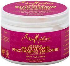 Shea Moisture Superfruit Multi-Vitamin Frizz-Taming Smoothie 12 oz