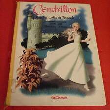 Nice Vintage Hard Cover French Book Cendrillon et Autres Contes de Perrault
