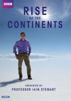 Rise of the Continents DVD (2013) Iain Stewart cert E 2 discs ***NEW***
