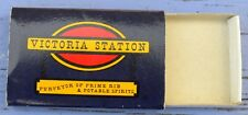 Boîte d'allumettes vide Victoria Station, Angleterre, England