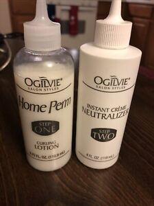 Ogilvie Salon Styles Original Home Perm Set Normal Hair Extra Body  Just Step1,2