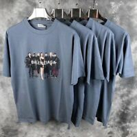 Balenciaga T-Shirt Model Tee (SIZE:L) (BRAND NEW) Gray Blue