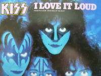 """KISS 45 RPM 7"""" - I Love It Loud UNPLAYED W/COLLECTOR'S SLEEVE"""