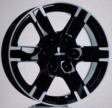 4 schwarz ALUFELGEN Titan 17 Zoll 6x130 MERCEDES Sprinter VW Crafter Transporter