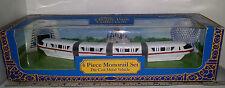 Disney Theme Park Collection 4 Piece Monorail Set Die Cast Metal Vehicle