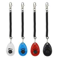 4Pcs Pet Dog Cat Puppy Adjustable Wrist Click Training Guiding with Rubber Ring