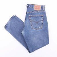 Vintage LEVI'S 582 06 Straight Fit Men's Blue Jeans W34 L30