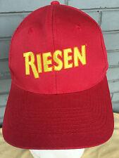 Riesen German Chocolate Candy Red Snapback Baseball Cap Hat Caramel