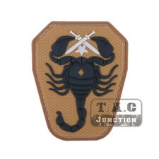 Tactical Scorpion Patches for Military Armband Badge for BDU Cloth Backpack Cap