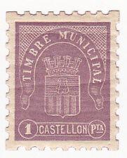 Sello Local Guerra Civil Castellon -Cat. Allepuz 66.  ORD:902