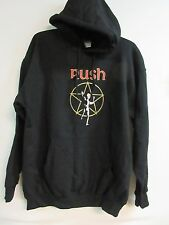 NEW - RUSH STARMAN BAND / CONCERT / MUSIC PULLOVER HOODIE SWEATSHIRT LARGE