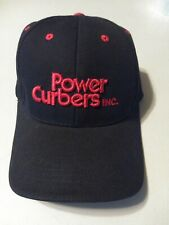 Brand NEW Black And Red Power Curber Ball Cap