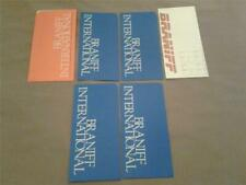 BRANIFF AIRLINES lot ticket jackets unused A171