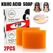 2pcs Whitening Lightening Deep Cleaning Kojic Acid Soap Bath Tool Bleaching Soap