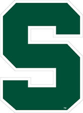 MSU MICHIGAN STATE SPARTANS Large Logo Decal