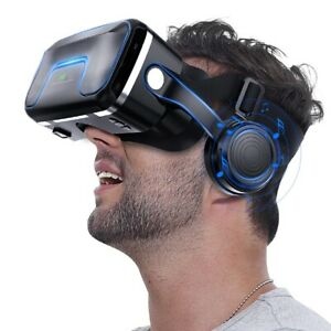 3D Virtual Reality Glasses Headset For Phone, TV, PC Video Game Cardboard Goggle