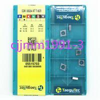 10PCS//box NEW original Taegutec CNC blade APKT1204PER-EM TT9080