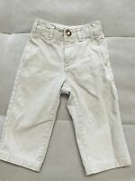 Baby Boy Gap Beige Pants 18-24 Month