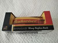 Budweiser Blimp Replica Metal Bank Limited Edition Collectible