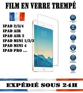 Vitre Film protection verre Trempé écran incassable iPad 2/3/4/5/Air/mini 1-2