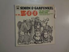 "SIMON & GARFUNKEL: Simon & Garfunkel At The Zoo + 3-France 7"" 67 CBS 6339 EP PCV"