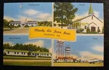 1950's POSTCARD-MOODY AIR FORCE BASE, VALDOSTA, GEORGIA