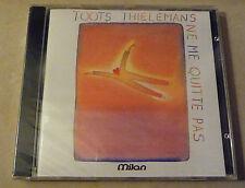 CD Toots Thielemans  Ne Me Quitte Pas  Brel Milan CD 303 - 1989 - Suisse Sealed