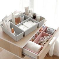 Drawer Tray Box Organizer Divider Grid Storage Divide For Bathroom Kitchen Desk