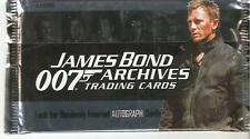 James bond archive , trading cards  pack