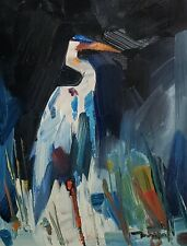 JOSE TRUJILLO Oil Painting IMPRESSIONISM 11X14 CRANE CONTEMPORARY COLLECTIBLE