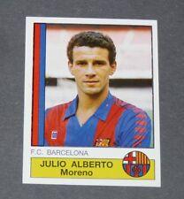 45 JULIO ALBERTO BARCELONA PANINI LIGA FUTBOL 87 ESPAÑA 1986-1987 FOOTBALL