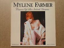 """Mylene Farmer Pourvu Qu'elles Soient Douces Maxi 45t 12"""" inch"""