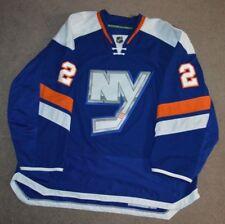 Nick Leddy New York Islanders Game Worn Used Third Jersey LOA Photomatched 14/15